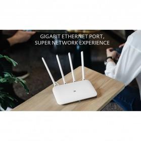 Xiaomi Mi Router 4 Dual Band Wireless Gigabit IEEE 802.11AC 4 Antena - R4 - White - 4