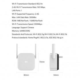Xiaomi Mi Powercat WiFi Amplify Range Extender Homeplug - P01 - White - 9