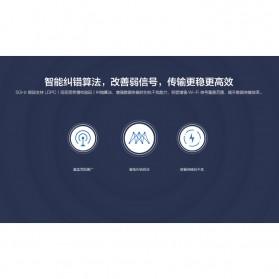 Xiaomi Mi Router R3Gv2 Dual Band Wireless Gigabit IEEE 802.11AC 4 Antena - White - 5