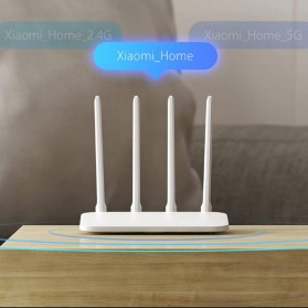 Xiaomi Mi Router 4A AC1200 IEEE 802.11AC 4 Antena - R4AC - White - 5