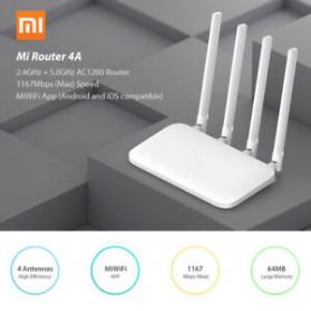 Xiaomi Mi Router 4A AC1200 IEEE 802.11AC 4 Antena - R4AC - White - 8