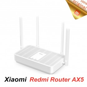 Xiaomi Mi Router AX5 Wifi 6 Mesh Gigabit 2.4G/5.0GHz Dual Band Wireless Router Wifi 4 Antena - White