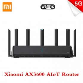 Xiaomi AloT Router WiFi 6 Gigabit Dual-Band Router - AX3600 - Black