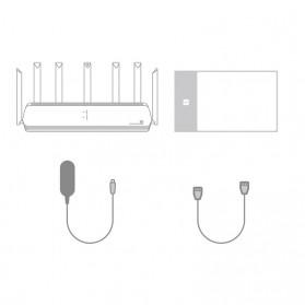 Xiaomi AloT Router WiFi 6 Gigabit Dual-Band Router - AX3600 - Black - 10