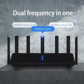 Xiaomi AloT Router WiFi 6 Gigabit Dual-Band Router - AX3600 - Black - 4
