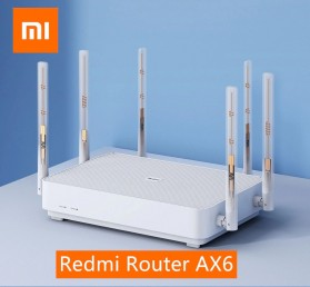 Xiaomi Redmi Router AX6 WiFi 6 Mesh Gigabit Dual Band 2.4G/5.0GHz with 6 Antena - White