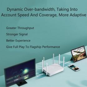 Xiaomi Redmi Router AX6 WiFi 6 Mesh Gigabit Dual Band 2.4G/5.0GHz with 6 Antena - White - 6