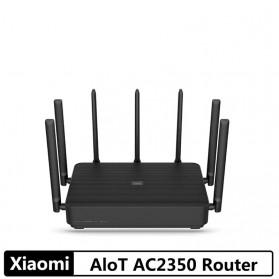 Xiaomi Mi AIoT WiFi Router Gigabit AC2350 2183Mbps with 7 High Gain Antena - Black