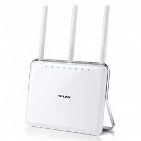 TP-LINK Archer D9 Wireless Dual Band Gigabit ADSL2+ Modem Router with Beamforming Technology - AC1900 - White