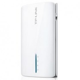 TP-LINK Portable Battery Powered 3G / 4G Wireless N Router - TL-MR3040 - White