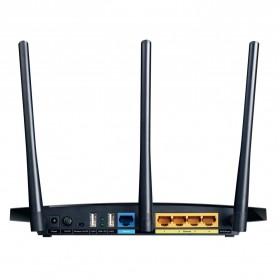 TP-LINK Archer C7 Wireless Dual Band Gigabit Router - AC1750 - Black - 3