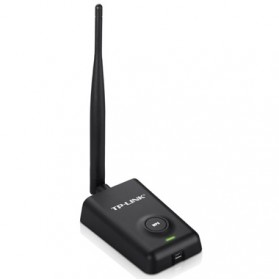 TP-LINK High Power Wireless USB Adapter 150Mbps - TL-WN7200ND - Black