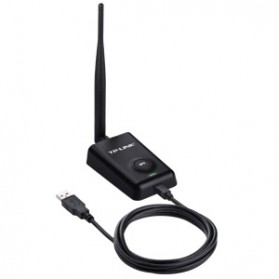 TP-LINK High Power Wireless USB Adapter 150Mbps - TL-WN7200ND - Black - 5
