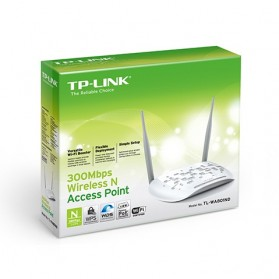 TP-LINK Wireless N Access Point 300Mbps Detachable Antena - TL-WA801ND - White - 4