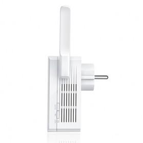 TP-LINK N300 Universal Wi-Fi Wall Plug Range Extender with External Antennas and AC Pass-thru - TL-WA860RE - White - 4