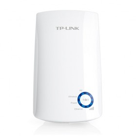 TP-LINK N300 Wi-Fi Wall Plug Extender with Ethernet Port - TL-WA850RE - White - 4