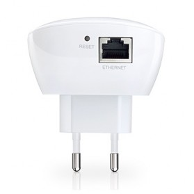 TP-LINK N300 Wi-Fi Wall Plug Extender with Ethernet Port - TL-WA850RE - White - 6