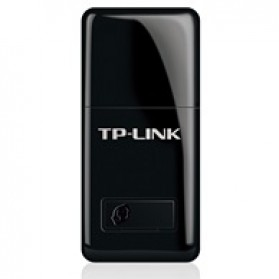 TP-LINK Wireless Mini USB Adapter 300Mbps - TL-WN823N - Black