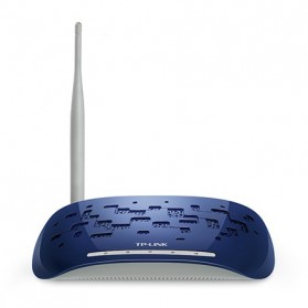 TP-LINK Wireless Range Extender 150Mbps with Detachable Antenna - TL-WA730RE - Black