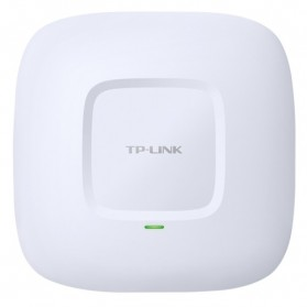TP-LINK N600 Wireless Dual Band Gigabit Ceiling Mount Access Point 600Mbps - EAP220 - White