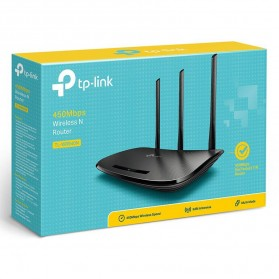 TP-LINK 450Mbps Wireless and Router - TL-WR940N - Black - 5