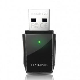 TP-LINK Wireless Dual Band USB Adapter Archer T2U - AC600 - Black - 2