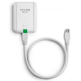 TP-LINK AC1200 High Gain Wireless Dual Band USB Adapter - Archer T4UH - White - 3