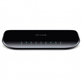 TP-LINK 8-Port Gigabit Desktop Switch - TL-SG1008D - Black