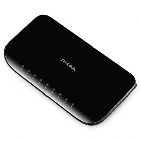 TP-LINK 8-Port Gigabit Desktop Switch - TL-SG1008D - Black - 2