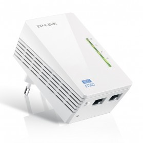 TP-LINK WiFi Powerline Extender 300Mbps - TL-WPA4220 - White