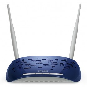 TP-LINK Wireless N Range Extender 300Mbps - TL-WA830RE - Blue
