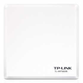 Signal Booster / Penguat Sinyal WiFi - TP-LINK Outdoor Panel Antenna 5GHz 23dBi - TL-ANT5823B - White