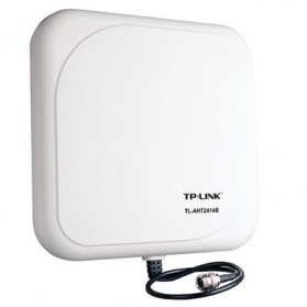 TP-LINK Outdoor Directional Antenna 2.4GHz 14dBi - TL-ANT2414B - White