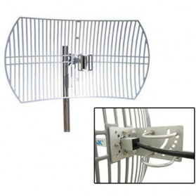 TP-LINK Grid Parabolic Antenna 2.4-2.5GHz 24dBi - TL-ANT2424B (UN) - Gray - 3