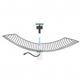 TP-LINK Grid Parabolic Antenna 2.4-2.5GHz 24dBi - TL-ANT2424B (UN) - Gray - 4