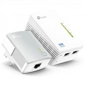 TP-LINK 300Mbps Wi-Fi Powerline Extender Starter Kit - TL-WPA4220KIT - White - 2