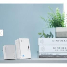 TP-LINK 300Mbps Wi-Fi Powerline Extender Starter Kit - TL-WPA4220KIT - White - 3