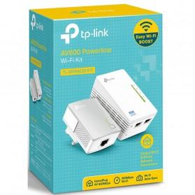 TP-LINK 300Mbps Wi-Fi Powerline Extender Starter Kit - TL-WPA4220KIT - White - 4