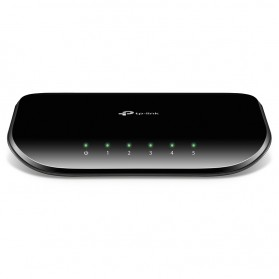 TP-LINK 5-Port Gigabit Desktop Switch - TL-SG1005D - Black