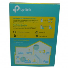TP-LINK AV600 Powerline Adapter with AC Pass Through - TL-PA4010PKIT - White - 4