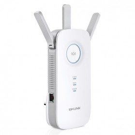 Signal Booster / Penguat Sinyal WiFi - TP-LINK AC1750 WiFi Range Extender - RE450 - White