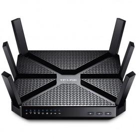 TP-LINK AC3200 Wireless Tri-Band Gigabit Router - Archer C3200 - Black - 1