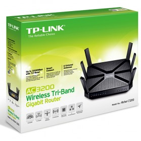 Tp Link Ac3200 Wireless Tri Band Gigabit Router Archer