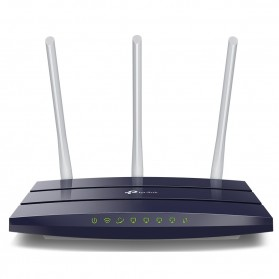 TP-LINK Wireless Gigabit Router 3x5dBi Antennas - TL-WR1043N Ver.5.0 - Black