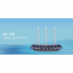 TP-LINK Archer C20 Wireless Dual Band Router - AC750 Ver. 4.1 - Black - 4