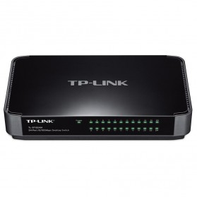 TP-LINK Desktop Switch 24-Port 10/100Mbps - TL-SF1024M - Black