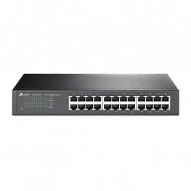 TP-LINK 24-Port Gigabit Desktop / Rackmount Switch TL-SG1024D - Black