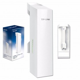 TP-LINK Wireless Outdoor WiFi CPE 2.4Ghz 300Mbps 12dBi - CPE220 - White - 1