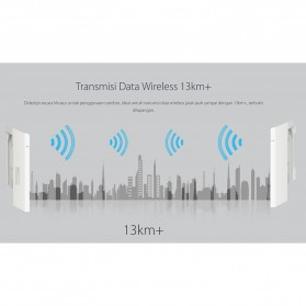 TP-LINK Wireless Outdoor WiFi CPE 2.4Ghz 300Mbps 12dBi - CPE220 - White - 4
