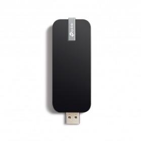 TP-LINK AC1300 Wireless Dual Band USB Adapter - Archer T4U - Black - 2
